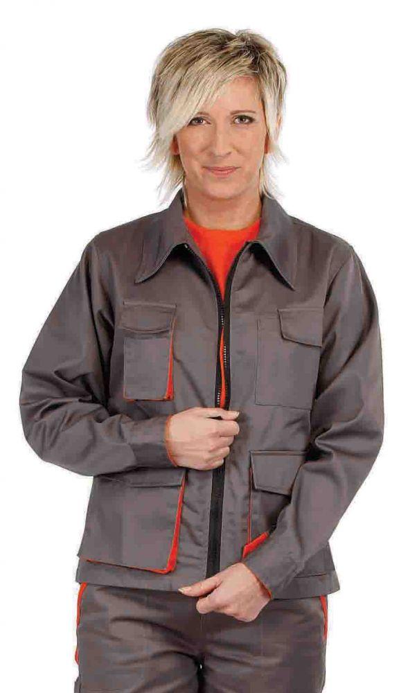 Desman Lady női munkás dzseki szürke