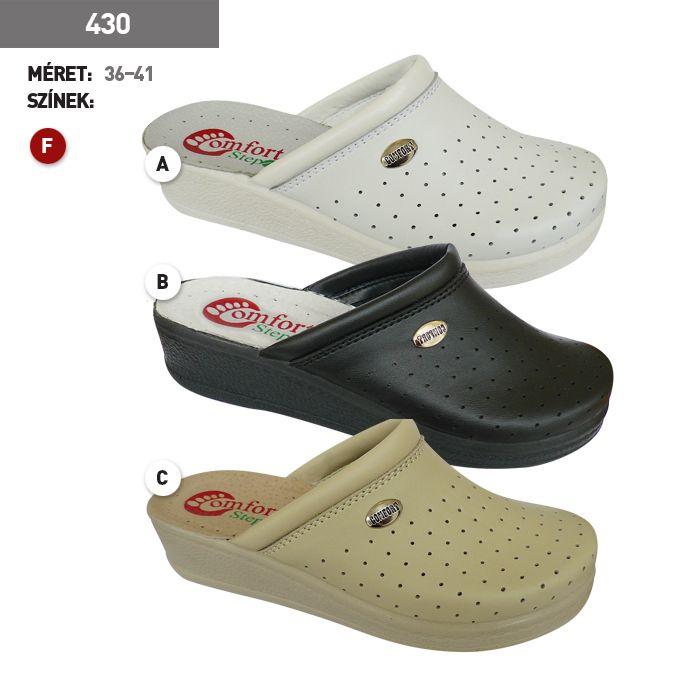 Comfort Step női klumpa 430 fehér