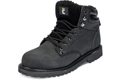 Cerva bélelt munkavédelmi bakancs BK Farmer 01 CI fekete