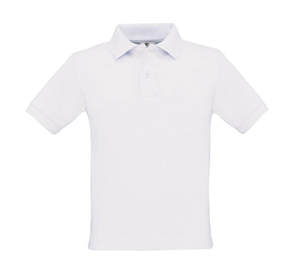 B C galléros gyerek póló Safran 180 fehér 2cffc6a208
