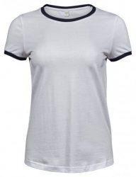 Tee Jays Ladies Ringer T-Shirt