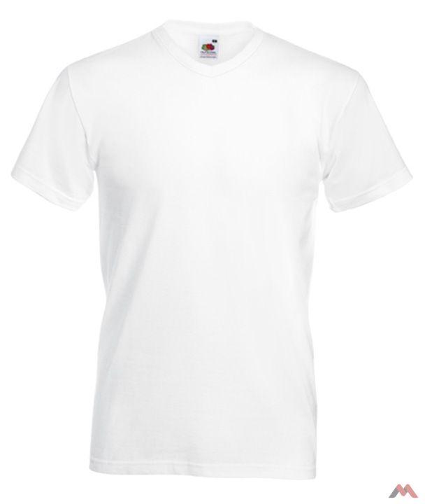 Fruit póló Valueweight V-neck T 160 fehér d1b119d945