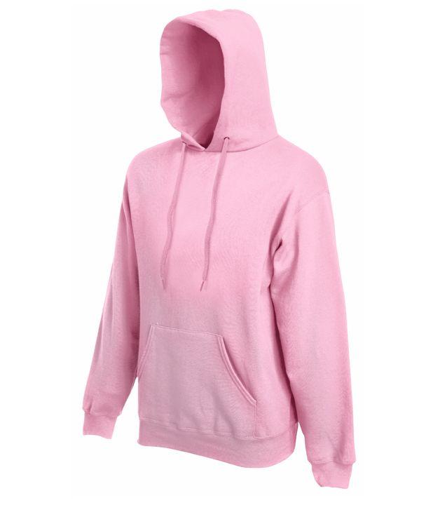 Fruit pulóver Classic Hooded 280 rózsaszín ea1bf7ab07