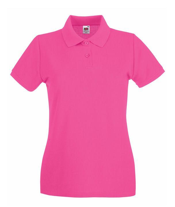0e6cf77625 Fruit galléros női póló Premium 180 pink