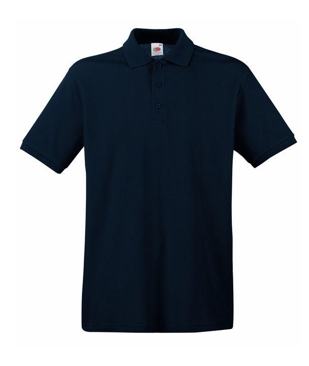 e8aa284517 Fruit galléros póló Premium 180 sötét tengerkék