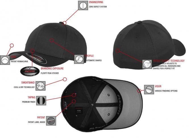 Flexfit fekete baseball sapka d625ec6443