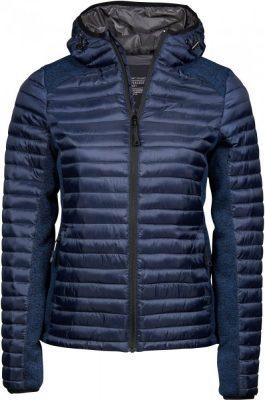 Tee Jays szürke bélelt női dzseki