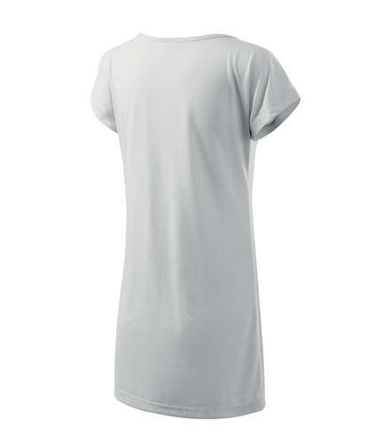 Adler fehér női póló-ruha e45504a4d3