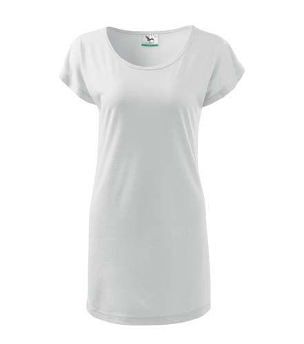 Adler fehér női póló-ruha dfd462bdc3