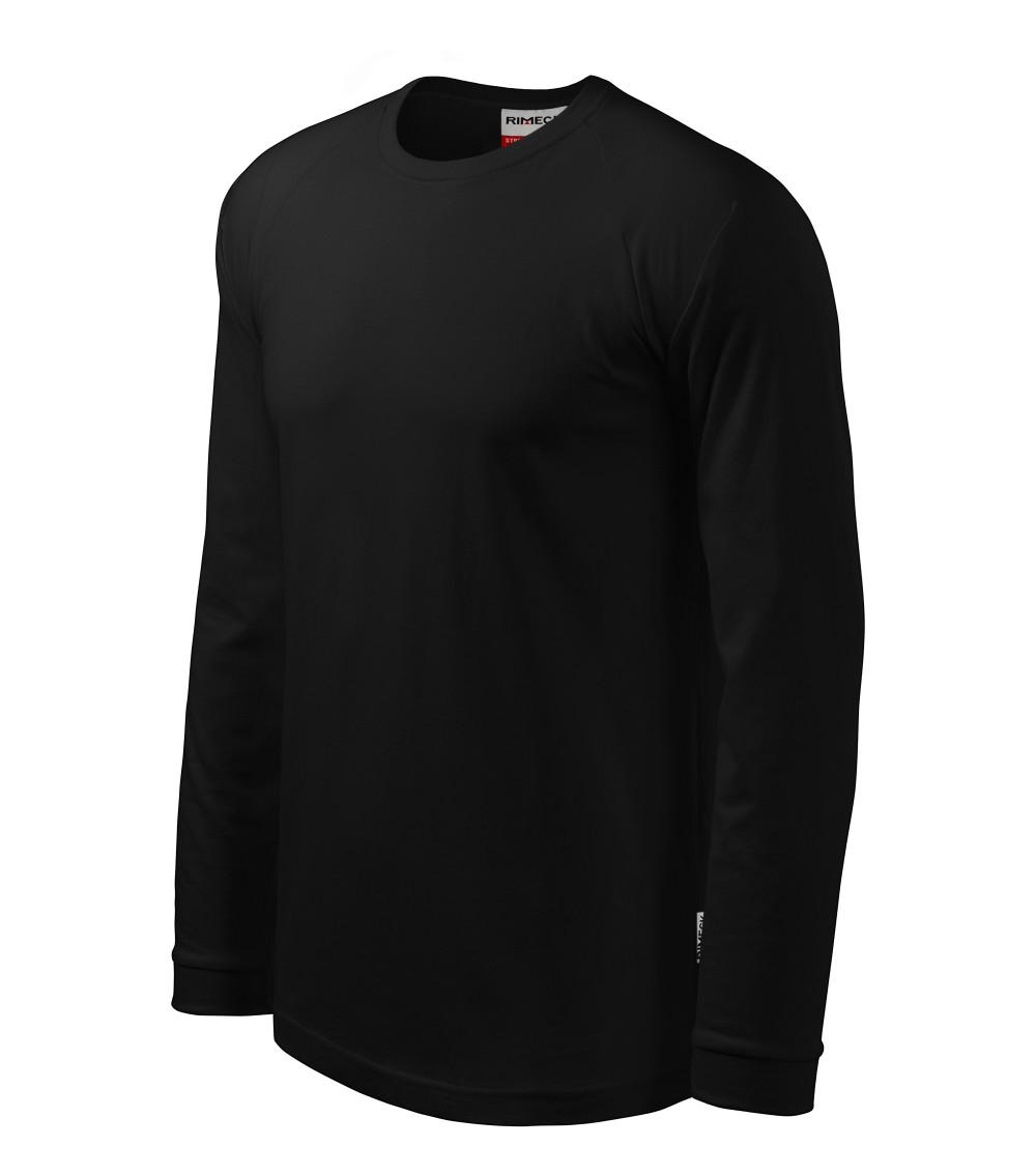 Adler hosszú ujjú póló Street 180 fekete 4c3730abf1