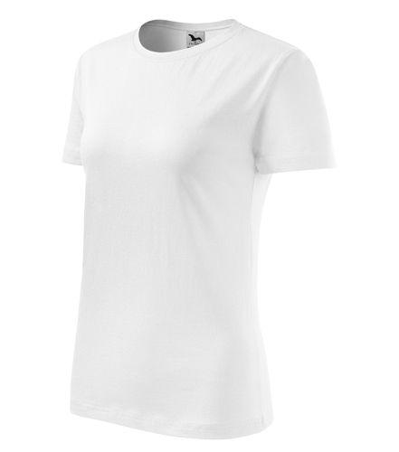 Adler női póló Classic New 145 fehér 74640b23b0