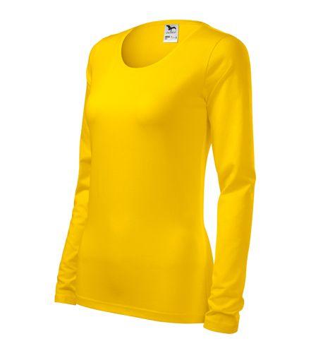 Adler hosszú ujjú női póló Slim 180 sárga d3e8ccbe55