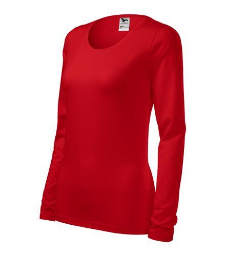 Adler hosszú ujjú női póló Slim 180 piros 38be0467ed