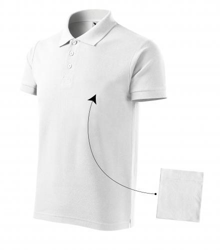 Adler galléros póló Cotton New 170 fehér 417db3b9bb
