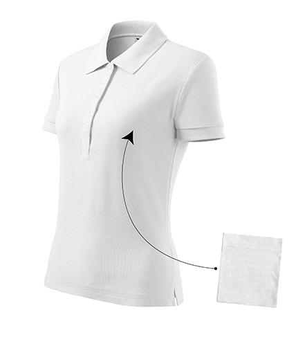 Adler galléros női póló Cotton 170 fehér bceada4380
