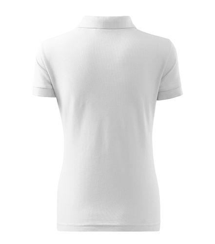 Adler fehér galléros női póló 79c4fe8f27
