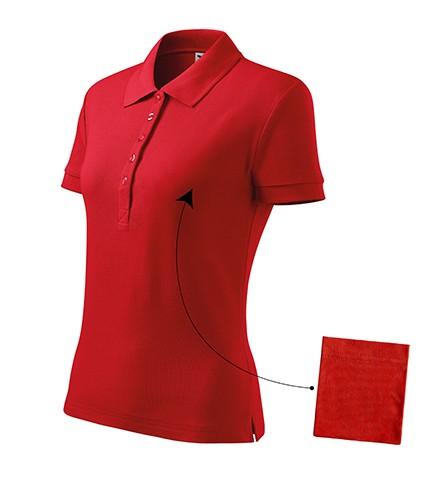 80aadd4c53 Adler galléros női póló Cotton 170 piros