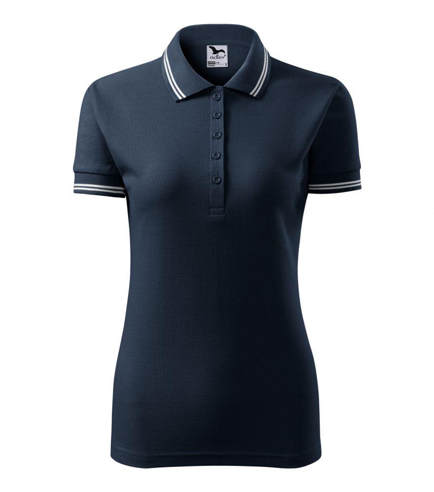 c9c4360c3d Adler/Malfini Urban kék női galléros póló