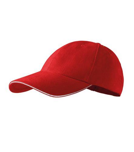 Adler baseball sapka Sandwich 6P piros-fehér e7bc68b8f6