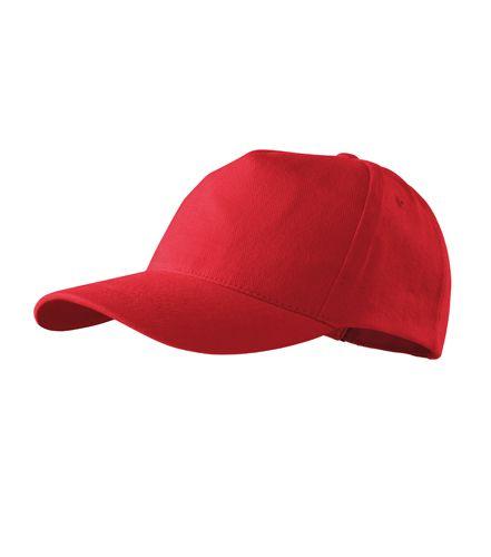 Adler baseball sapka 5P piros 0da3d2b843