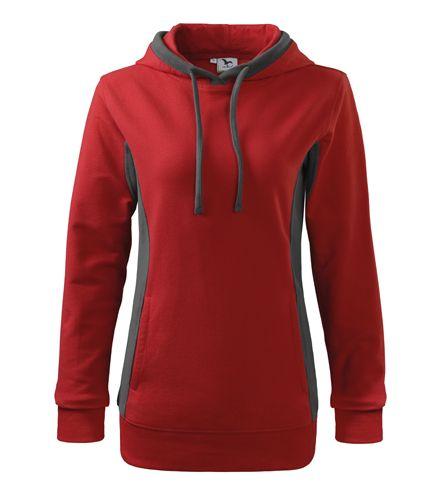 08b2b2a3c4 Piros női kapucnis pulóver