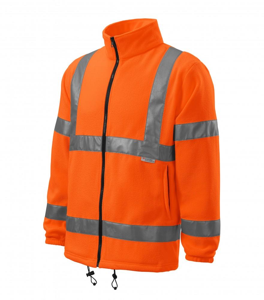 77c65eb457 Adler polár pulóver Jacket 280 fluo narancssárga