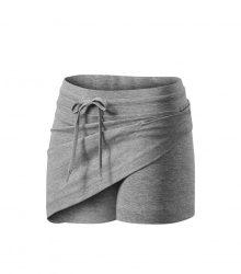 Adler/Malfini nadrág-szoknya Skirt 200 sötétszürke melírozott