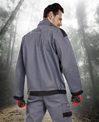 Cool Trend dzseki szürke fekete