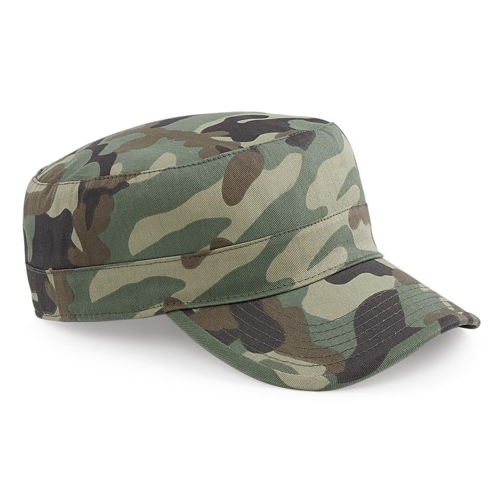 9135a0597549 Beechfield baseball sapka Camouflage Army zöld terep
