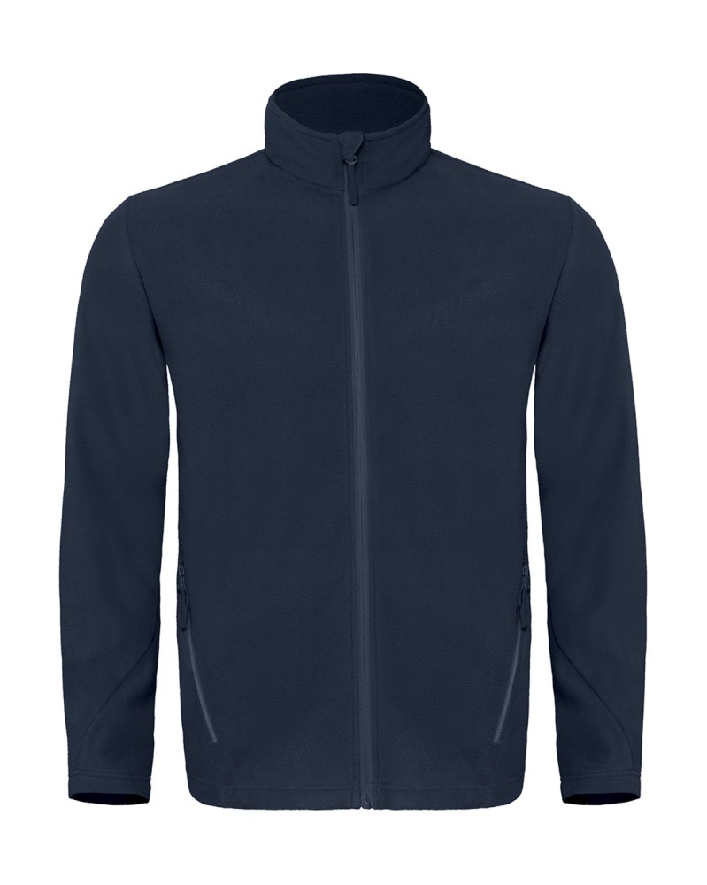 c015edf95c B&C polár pulóver Micro Fleece Full Zip 170 navy