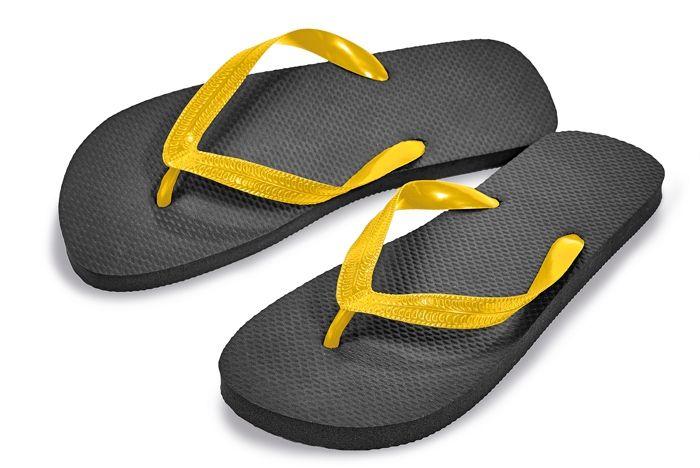 Cerva strandpapucs Shower Slippers fekete-sárga 93d1dc14b1