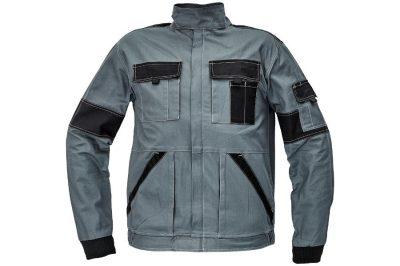 Max szürke munkás kabát