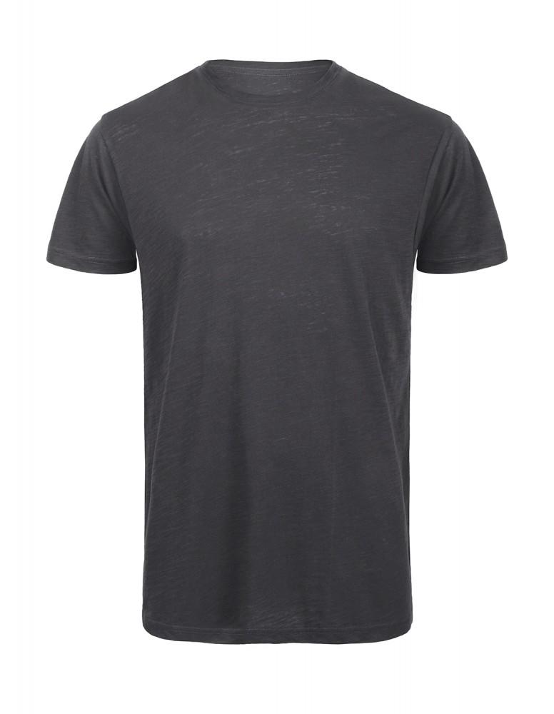 84e6eea510 B&C rövid ujjú szürke póló