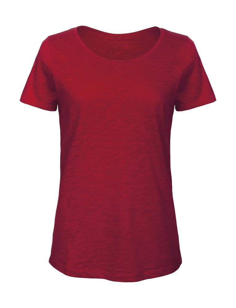 B C rövid ujjú piros női póló 335496e3d5
