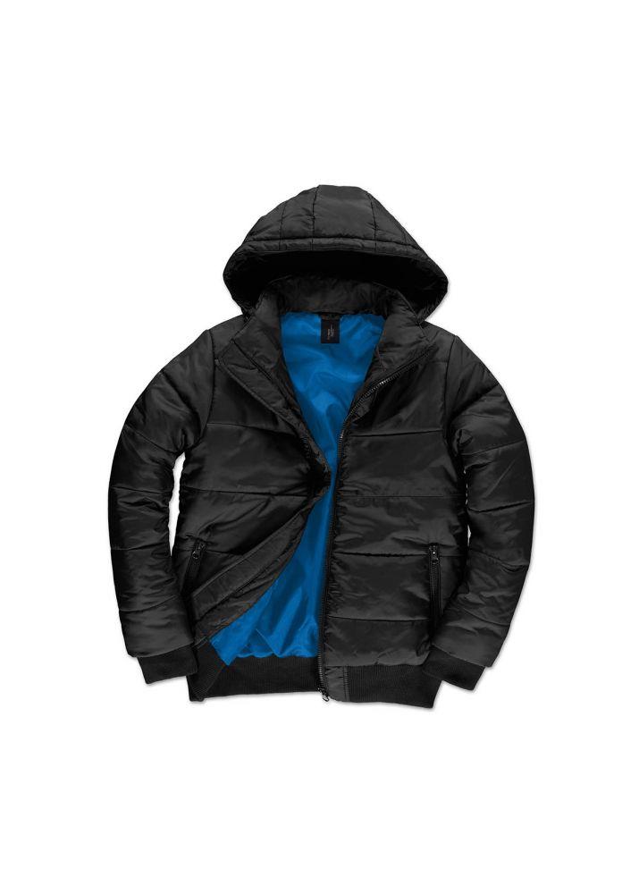 4976e3c540 B&C férfi dzseki Superhood fekete