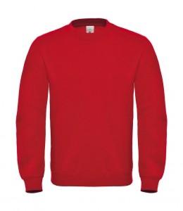 B&C piros férfi pulóver