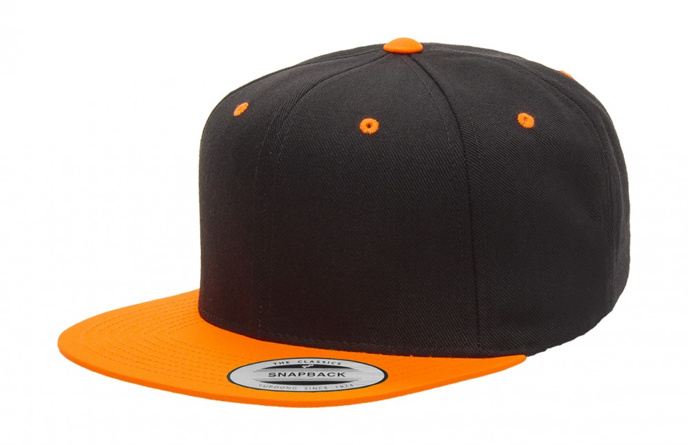 Classics baseball sapka Snapback 2-Tone 6P fekete-narancssárga 6734842922