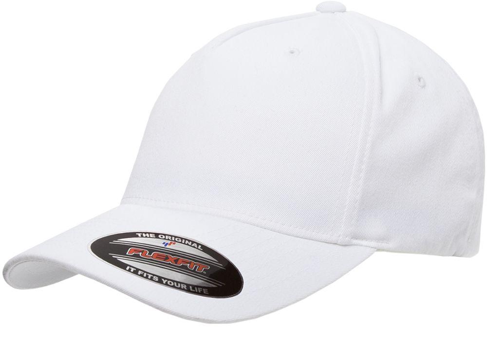 Flexfit baseball sapka Fitted 5P fehér ac20f8c5f8