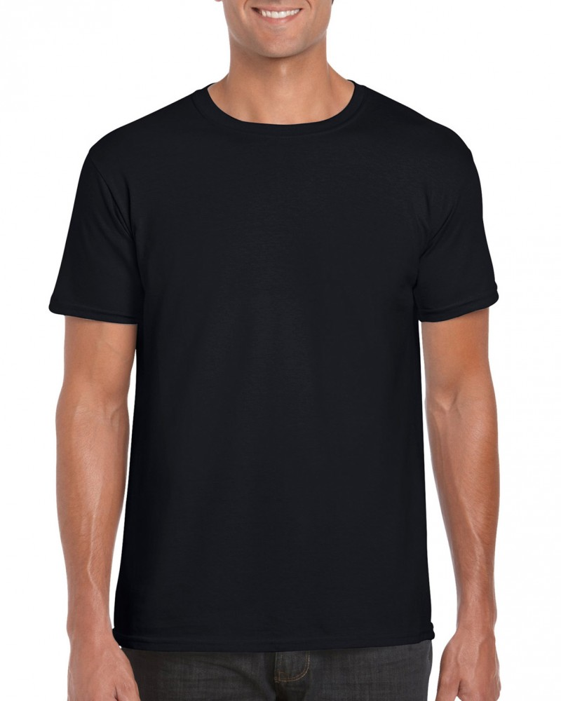 Gildan póló Ring Spun 153 fekete 3420ee1786
