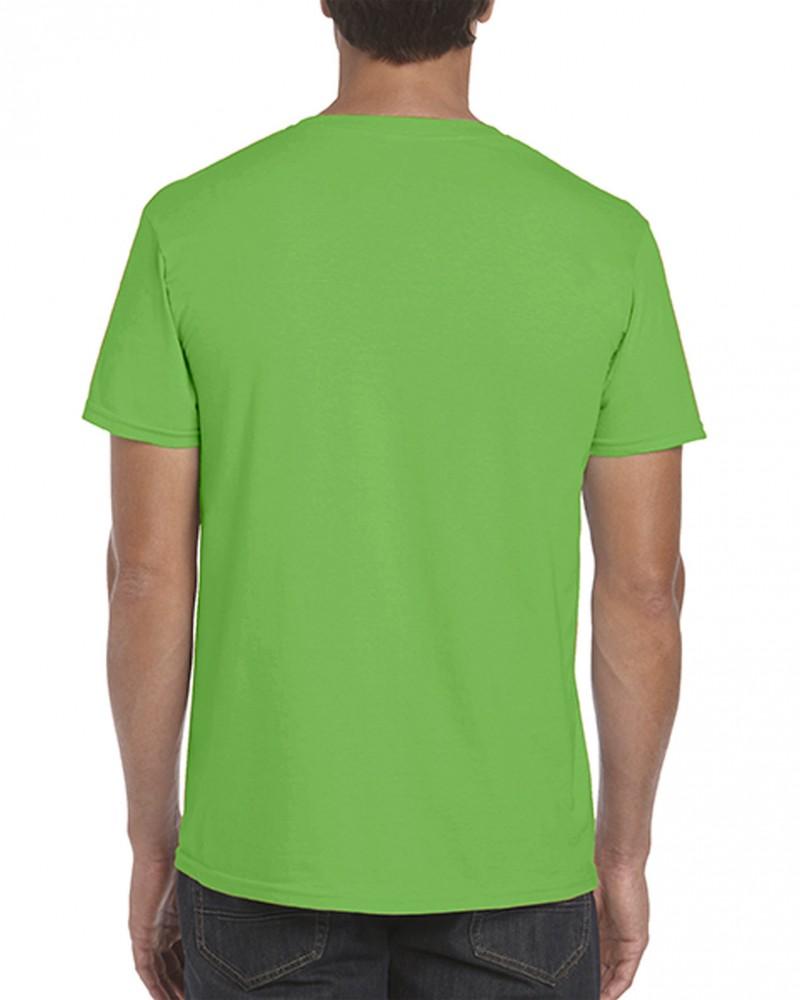 Gildan póló Ring Spun 153 electric green 05ae40b455