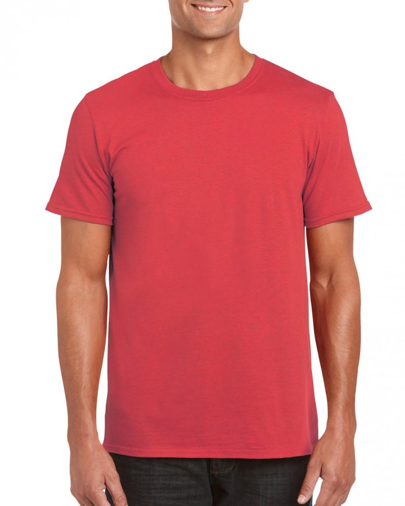 Gildan póló Ring Spun 153 melírozott piros 3f90bd0d17