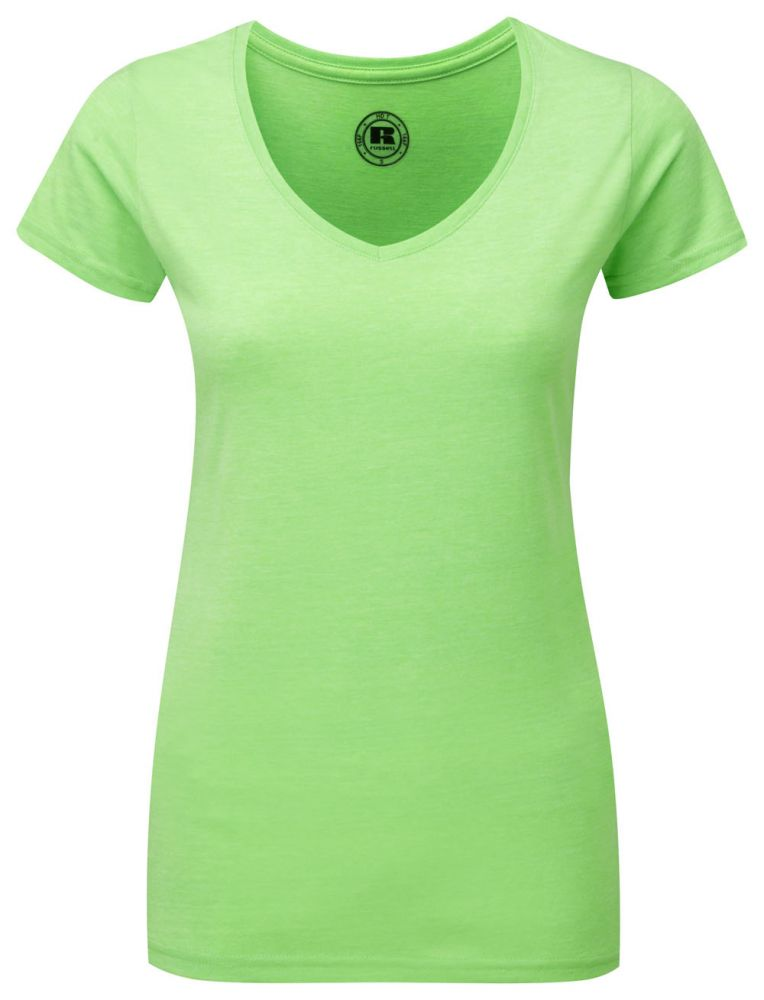 6fcd000c23 Russell női póló V-Neck HD Tee 160 zöld