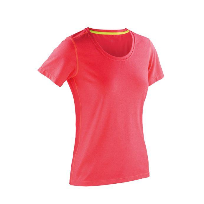 a882238467 Spiro Fitness Women's Shiny Marl T-Shirt