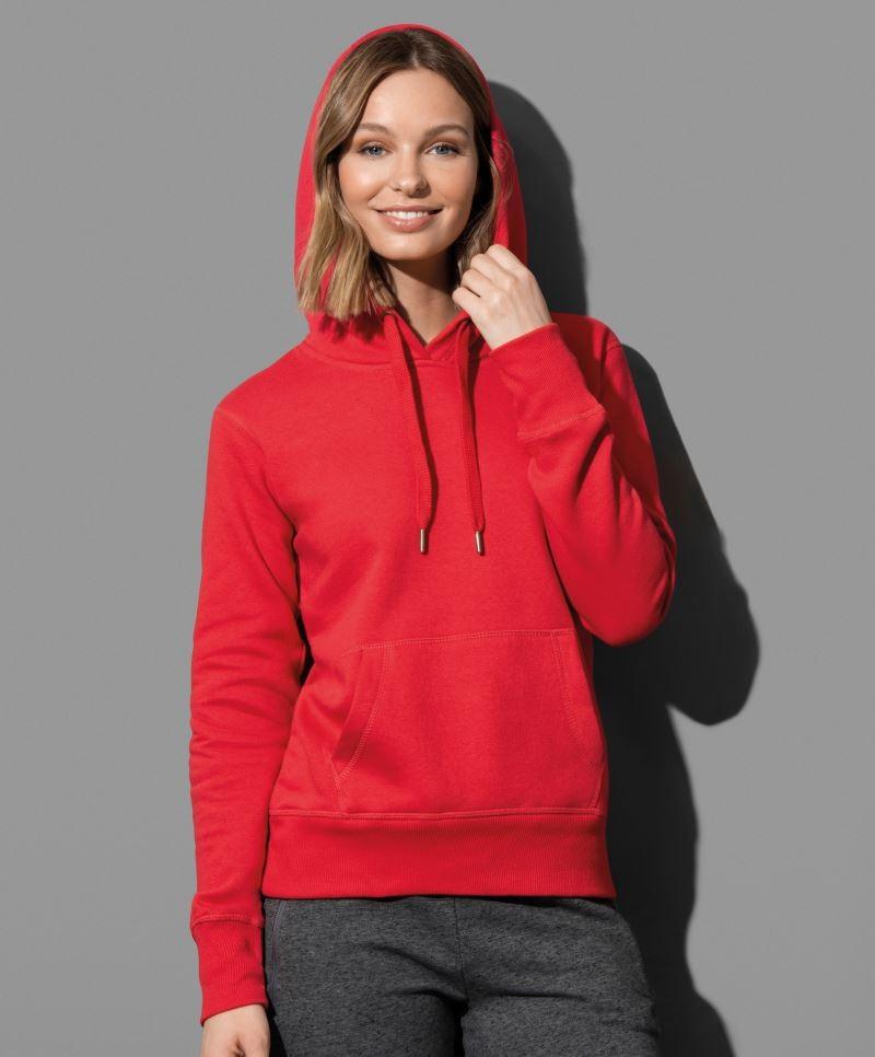 c1702bb3e8 Active női pulóver Sweat Hoody 270 piros