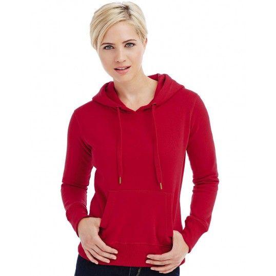 Active női pulóver Sweat Hoody 270 piros d2ce2ea369