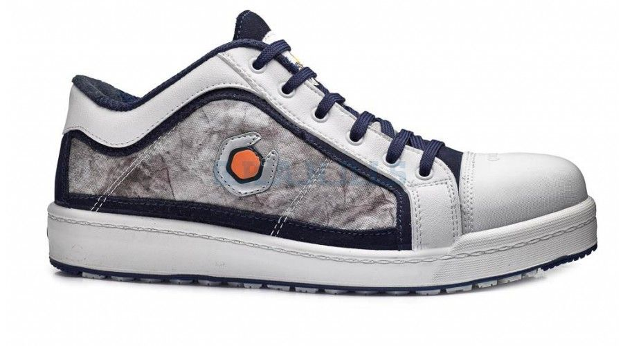 Base munkavédelmi cipő Paint S1P fehér AKCIÓ e092c48558
