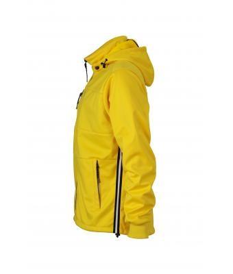 James & Nicholson sárga softshell dzseki