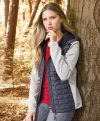 James & Nicholson Ladies Knitted Hybrid Jacket