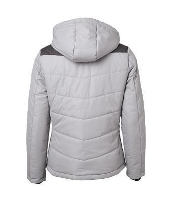 c6a37f723d James & Nicholson ezüst bélelt női kabát