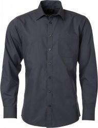 James & Nicholson Popline Shirt longsleeve